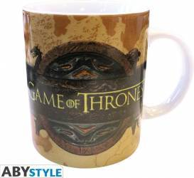 Cana AbyStyle Game of Thrones Opening logo 320 ml  Cani, pahare, accesorii masa