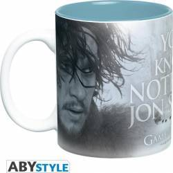 Cana AbyStyle Game of Thrones You Know Nothing 460 ml Cani, pahare, accesorii masa