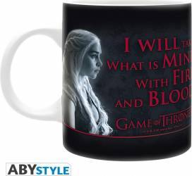 Cana AbyStyle Game of Thrones FireBlood 320ml  Cani, pahare, accesorii masa