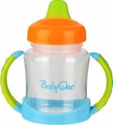 Cana bebelusi cu cioc moale BabyOno 206 180 ml