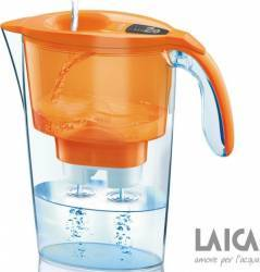 Cana de filtrare a apei Laica Stream Orange 2.25L