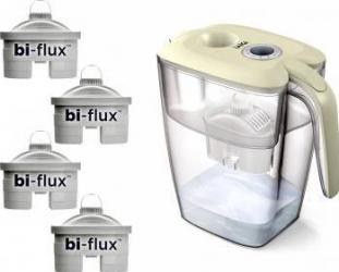 Cana Filtranta de Apa Laica J9071 BIG Roma + 4 filtre Laica Bi-flux Cani filtrante si Accesorii