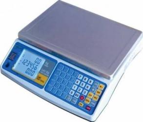 Cantar Comercial Partner FAPC 15 Capacitate 6-15kg Afisaj LCD Cantare de Bucatarie