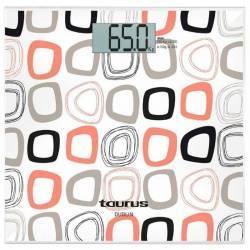Cantar corporal Taurus Dublin 150 kg Precizie 100 g Design slim Inchidere automata Alb Cantare Personale