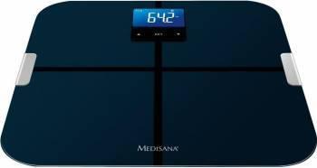 Cantar cu analizator corporal Medisana BS-440 5 functii 8 memorii 180 kg Bluetooth Negru Cantare Personale