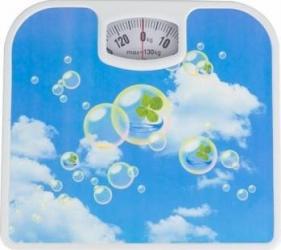 Cantar de baie Victronic 130 kg Alb-Albastru