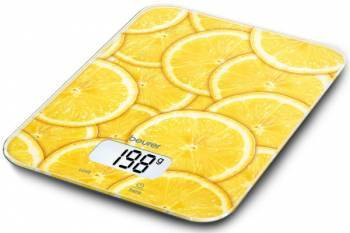 Cantar de bucatarie digital Beurer KS19 lemon