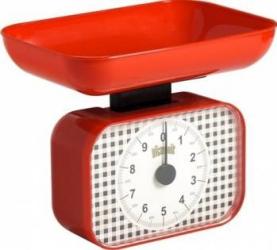 Cantar de bucatarie Victronic 10kg Mecanic Rosu