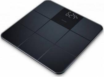 Cantar de sticla Beurer GS235 Afisaj LCD 180kg Negru Cantare Personale