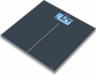 Cantar de sticla Beurer GS280 BMI Genius 180kg Display multicolor Negru Cantare Personale
