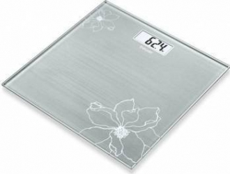 Cantar Electronic Beurer Gs10 180kg Afisaj Lcd Oprire Automata Argintiu