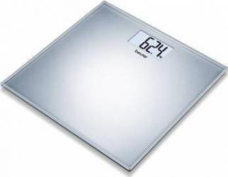 Cantar Electronic Beurer Gs202 150kg Oprire Automata Afisaj Lcd Argintiu