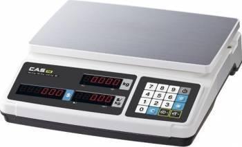 Cantar electronic comercial CAS PR PLUS 30kg Afisaj LED Cantare de Bucatarie