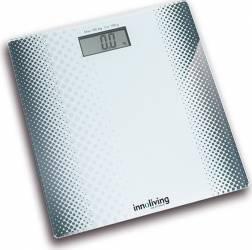 Cantar electronic Innofit INN-102 180 kg Platforma de sticla Alb Cantare Personale
