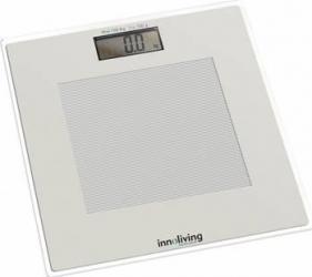Cantar electronic Innofit INN-105 180 kg Platforma de sticla Alb Cantare Personale