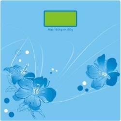 Cantar electronic Victronic 180 kg Platforma de sticla Bleu