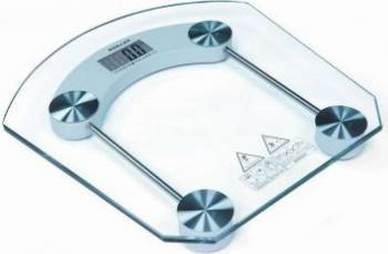 Cantar electronic Victronic RSP34 180 kg Platforma de sticla Transparent