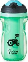 Canuta copii Tommee Tippee Explora Sipper Isotherm Green 260ML Cani, pahare, accesorii masa