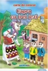 Capra cu trei iezi - Carte de colorat ed. 2012 2.5