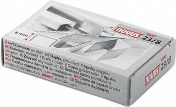 Capse Novus 23/8 1000 buc/cutie Articole and accesorii birou