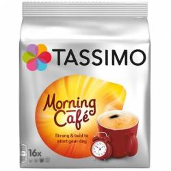 Capsule Jacobs Tassimo Morning Cafe 16 Capsule 124.8 g Cafea