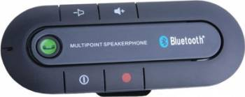 Car Bluetooth Multipoint Handsfree BT980 Negru Car Kit-uri
