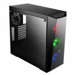Carcasa Cooler Master MasterBox Lite 5 RGB Fara sursa Neagra Carcase
