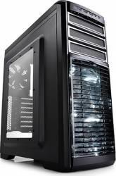 Carcasa DeepCool Kendomen TI Windowed fara sursa Titanium Gray Carcase
