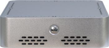 Carcasa Inter-Tech Mini ITX Q-6 Silver Carcase