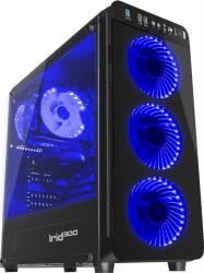 Carcasa Natec Genesis Irid 300 Blue Fara sursa Carcase