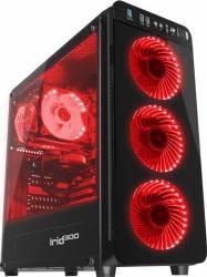 Carcasa Natec Genesis Irid 300 Red Fara sursa Carcase
