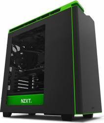 Carcasa NZXT H440 Matte Black Green New Edition Carcase