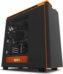 Carcasa NZXT H440 Matte Black Orange New Edition Fara sursa Carcase