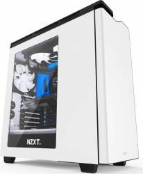 Carcasa NZXT H440 window New Edition fara sursa alba Carcase