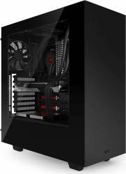 Carcasa NZXT Source 340 Black-blue Fara sursa Carcase