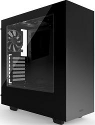 Carcasa NZXT Source 340 Mid Tower Windowed fara sursa Black Carcase