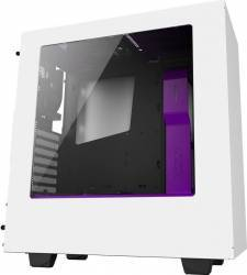 Carcasa NZXT Source S340 White-purple Fara sursa Carcase