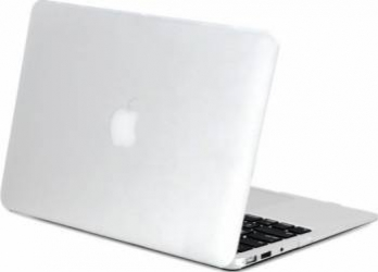 Carcasa din plastic mat cauciucat pentru MacBook Air 13-inch A1466 - A1369 Transparenta Genti Laptop