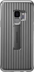Skin Protective Standing Samsung Galaxy S9 G960 Silver huse telefoane