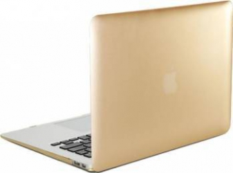 Carcasa Lention Sand Series Pentru Macbook 12 inch Auriu