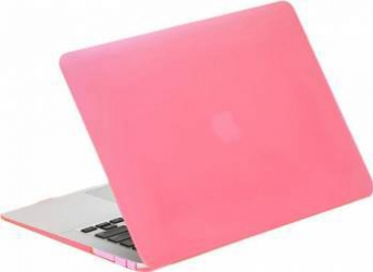 Carcasa Lention Sand Series Pentru Macbook 12 inch Roz Genti Laptop