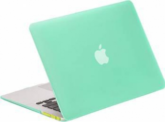 Carcasa Lention Sand Series Pentru Macbook 12 inch Verde Genti Laptop