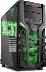 Carcasa Sharkoon DG7000-G Green Fara sursa Carcase