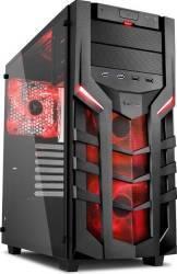 Carcasa Sharkoon DG7000-G Red Fara sursa Carcase