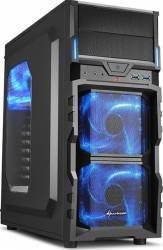 Carcasa Sharkoon VG5-W Blue Fara sursa