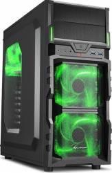Carcasa Sharkoon VG5-W Green Fara sursa