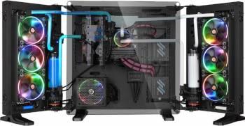 Carcasa Thermaltake Core P7 Tempered Glass Edition Fara sursa Neagra Carcase