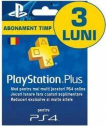 Card Abonament Playstation Plus Ro Membership De 90 Zile