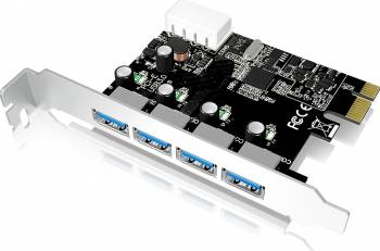 Card de expasiune Raidsonic Icy Box IB-AC614a PCI-E 4x USB 3.0 Accesorii