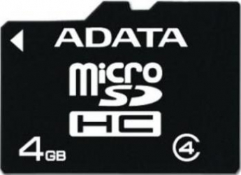 Card de Memorie ADATA microSDHC 4GB Class 4 Carduri Memorie